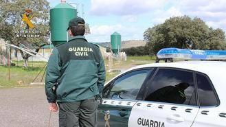 La Guardia Civil detiene a cuatro personas en Romanones pillandos 'in fraganti' robando en una explotación agrícola