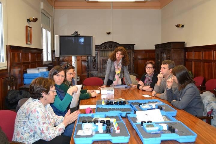 Nuevo material para el control de aguas y otras sustancias a los Distritos de Salud de Guadalajara