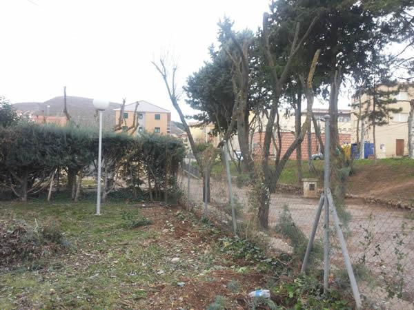 Comienzan los trabajos de mejora del complejo de las piscinas municipales de Jadraque