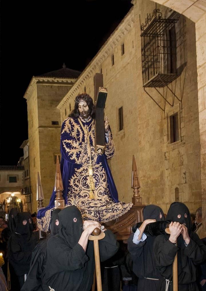 El Vía Crucis al Calvario, estandarte de la Semana Santa Pastranera