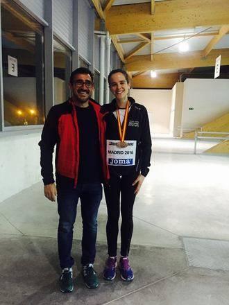 La alcarreña Ana Lozano, la tercera mejor de España en 3.000 metros en pista cubierta