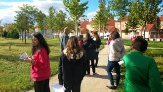Más de 180 alumnos han realizado el itinerario didáctico del Parque de la Armonía en Alovera
