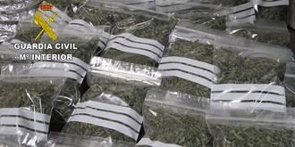 La Guardia Civil detiene a una persona en Gajanejos por tráfico de drogas