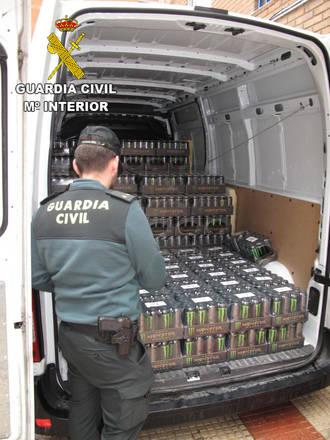 Tres detenidos por comprar latas de bebidas energéticas robadas en Cabanillas del Campo