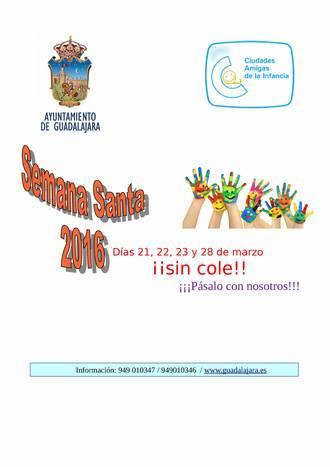 """""""¡Días sin cole!"""", una oportunidad para conciliar la vida familiar y laboral durante las vacaciones escolares de Semana Santa"""