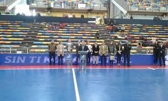 """La 27ª Copa de España de Fútbol Sala arranca con los premios del Concurso de Pintura Infantil """"Imagínate el Fútbol Sala"""""""