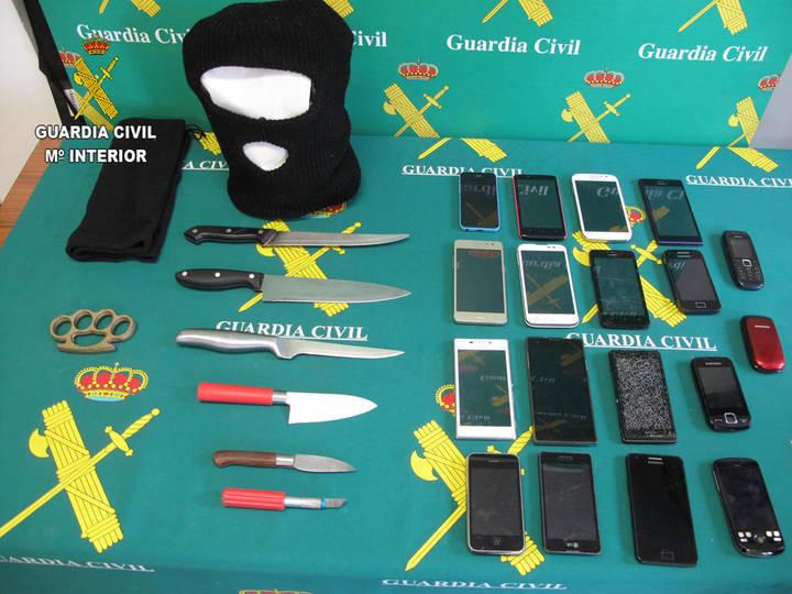Detienen a los integrantes de un grupo criminal que robaba a menores en la provincia de Guadalajara