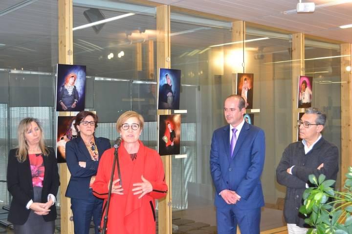 """El Archivo Histórico Provincial acoge la exposición fotográfica """"Con otra mirada"""", en la que las modelos son pacientes y trabajadoras de la URR de Alcohete"""