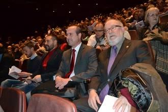 Alberto Rojo acompaña a Jesús Villa-Rojo en el estreno de 'Cantiga contra fortuna', inspirada el Libro del Buen Amor