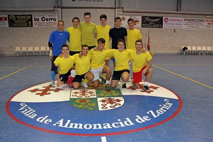 El Atlético Almonacid logra su primera victoria