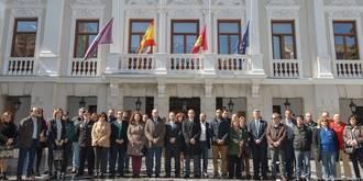 Silencio en Guadalajara para recordar a las víctimas de Bruselas