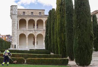 Los jardines del Palacio del Infantado están siendo objeto de numerosas actuaciones de mejora