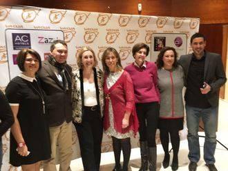 La Diputación muestra su colaboración a la Asociación Vasija en su cena solidaria a favor de las familias vulnerables