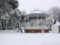 Cero grados de mínima y 4 de máxima este sábado en Guadalajara que está en alerta NARANJA por nieve