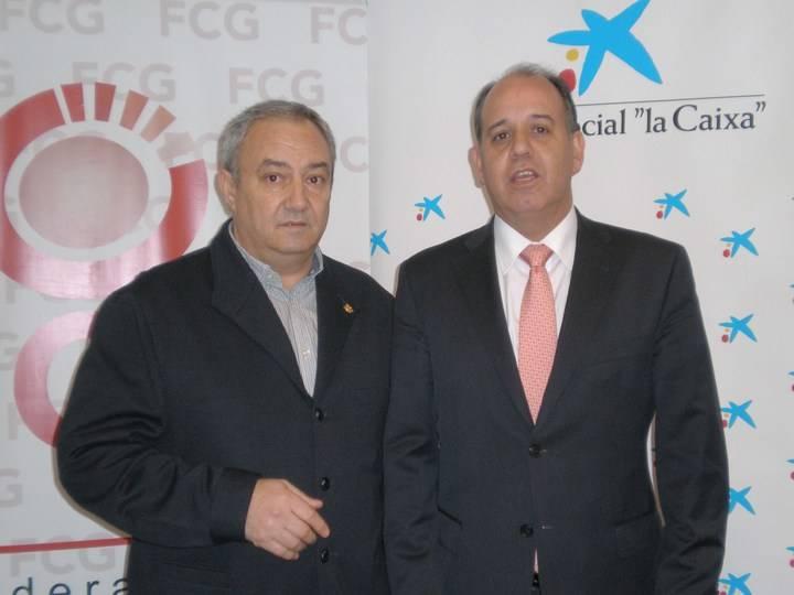 FCG firma un convenio de colaboración con Caixabank
