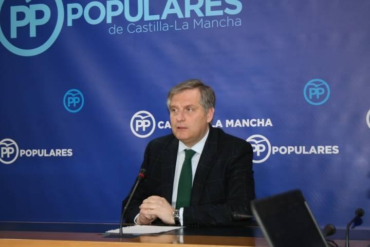 """Cañizares: """"Con lo que conocimos ayer sobre Moltó, el PSOE de Page recibió una condena a su gestión ruinosa y de escándalos en esta región"""""""