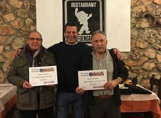 Manuel Arroyo y Juan Manuel de la Torre, vencedores en la Fase Local de Mus de Horche