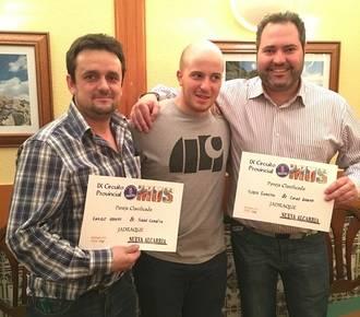 Carlos Arroyo y Rubén Expósito, vencedores en la Fase Local de Mus de Jadraque