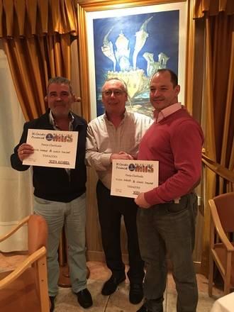 Miguel González y Aurelio Somolinos, vencedores en la Fase Local de Mus de Taracena