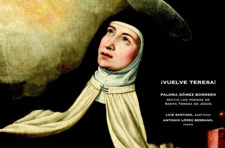 Paloma Gómez Borrero recitará poemas de Santa Teresa en Sigüenza
