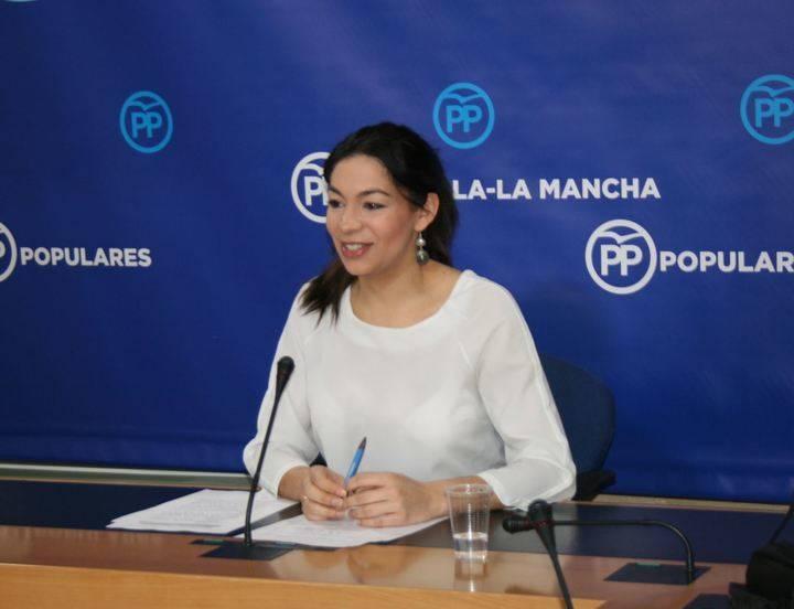 """Claudia Alonso: """"Barreda arruinó Castilla-La Mancha en siete años; Page en tan solo siete meses"""""""