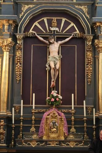 Esta Semana Santa se presenta la restauración del Santísimo Cristo de los Milagros