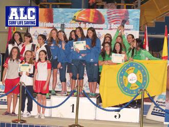 Las chicas del Alcarreño, campeonas nacionales