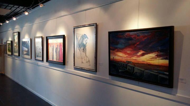 El realismo cromático de José Mª Zahonero en la Sala de Exposiciones del Centro Cultural de Valdeluz