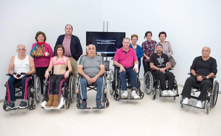 Pacientes de Parapléjicos se inician en la realización de cortos tras participar en un taller de edición de video