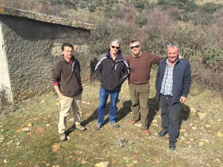La Junta estudia fórmulas para mejorar y asegurar el abastecimiento de agua en Hiendelaencina
