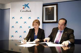 CaixaBank firma un acuerdo con el Colegio de Abogados de Guadalajara para promover la financiación del sector