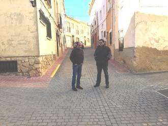 La Diputación mejora las calles y redes de abastecimiento de Hontoba, Mondéjar y Driebes