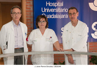 Profesionales de Geriatría del Hospital de Guadalajara, premiados por un trabajo sobre disfagia