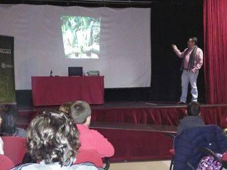 Los centros educativos de Alovera participan en las conferencias didácticas sobre fauna y medio ambiente de La Campiña