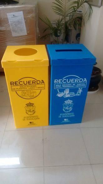 Campaña de la Concejalía de Medio Ambiente en los colegios e institutos para fomentar el reciclado selectivo de residuos