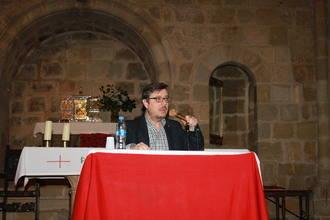 Una conferencia sobre 'la muerte de Cristo, desde el punto de vista médico' inicia la actividad cultural de la seguntina Iglesia de Santiago