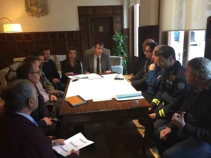 Guadalajara convoca el Centro de Coordinación Operativa de la Administración Local ante la alerta naranja por nieve