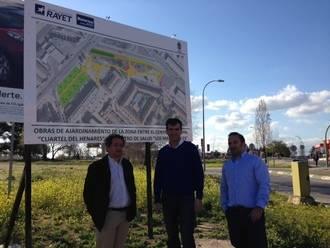 El Ayuntamiento construirá un aparcamiento y una zona verde junto al centro de salud de Los Manantiales