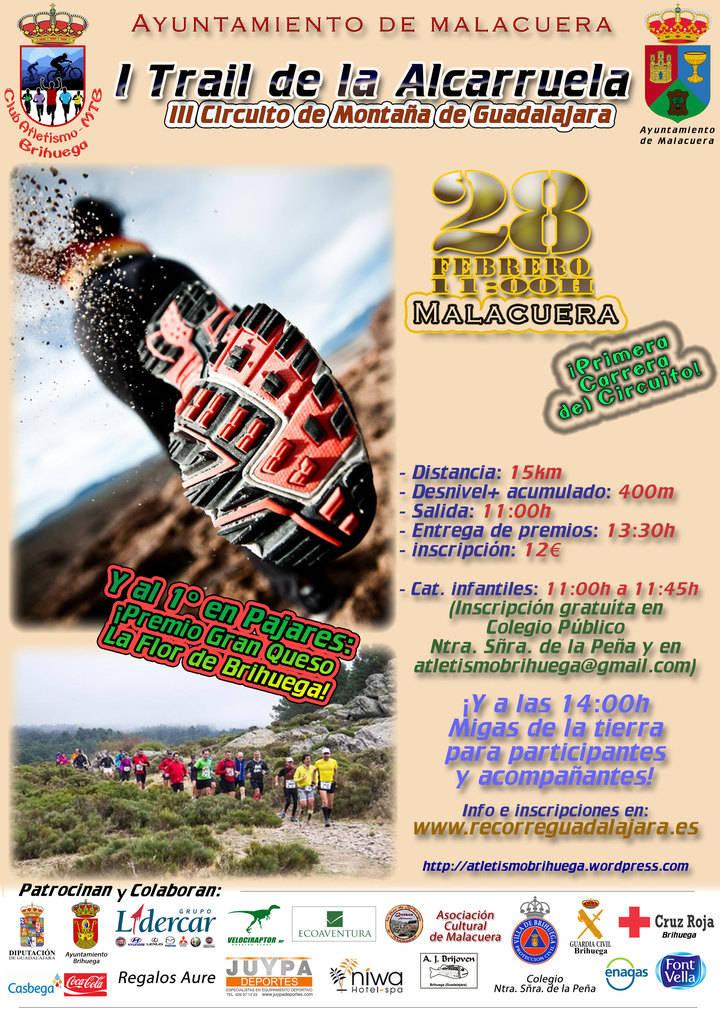 Malacuera se viste de fiesta el próximo domingo para celebrar el I Trail de La Alcarruela