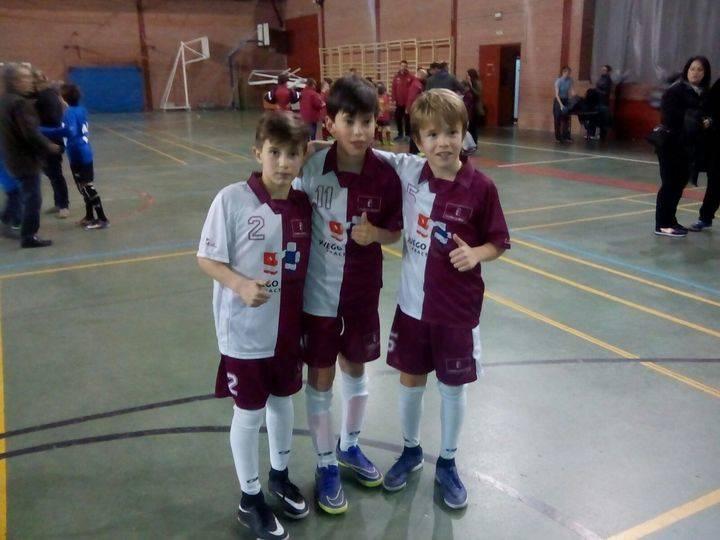 El CD Guadalajara FS aporta tres jugadores a la Selección Benjamín de Castilla-La Mancha