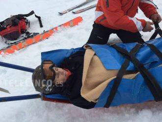 Mercedes Milá sufre un accidente mientras esquiaba en Italia