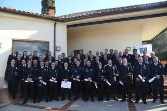 127 policías locales de la región reciben distinciones de los tres cursos de especialista desarrollados en la Escuela de Protección Ciudadana