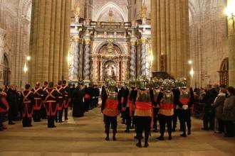 Sigüenza vive una Semana Santa, repleta de turistas, con respeto y devoción
