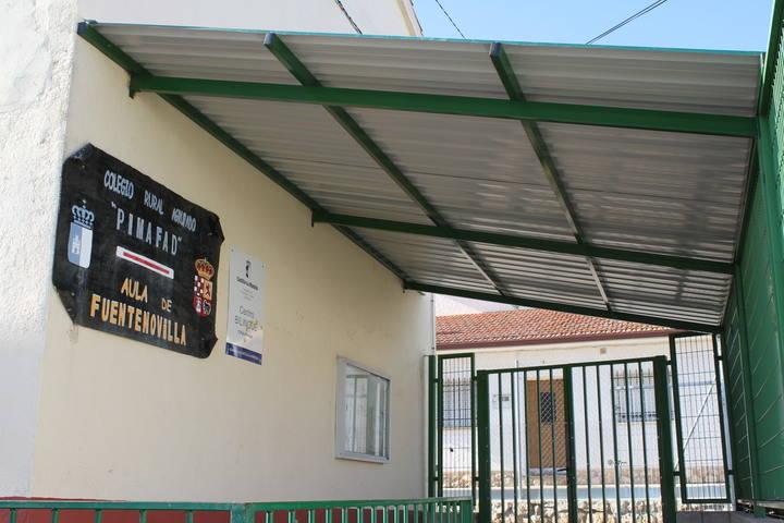 El Ayuntamiento mejora las instalaciones del colegio de Fuentenovilla