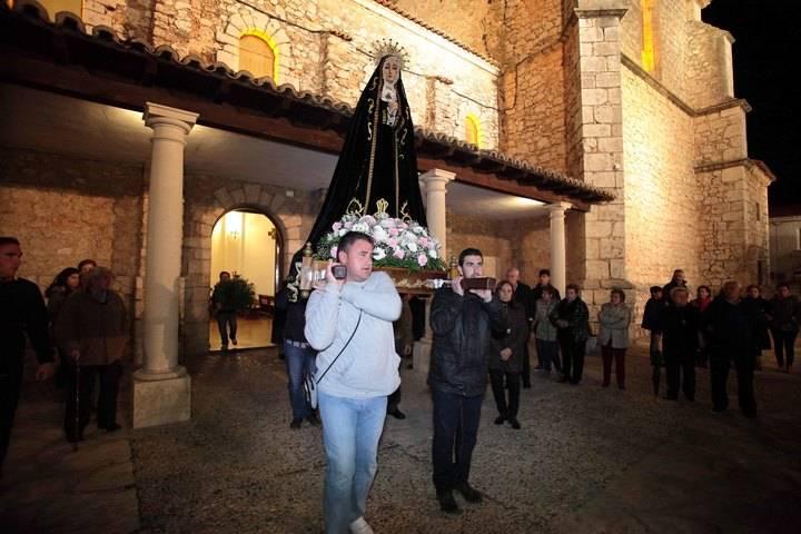 Fuentenovilla ha vivido con sencillez, recogimiento y devoción las tradiciones de Semana Santa