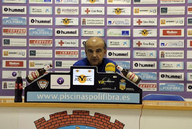 """Arnáiz Lucas: """"El domingo vamos a intentar por todos los medios dar la vuelta a la situación"""""""