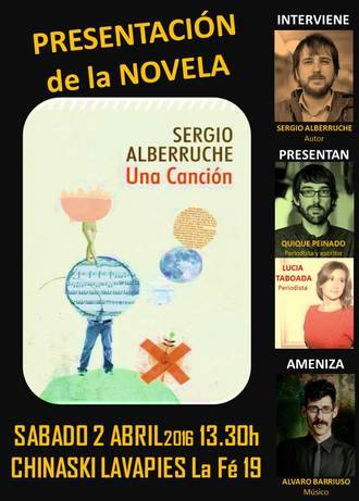 Sergio Alberruche presenta en Madrid su novela