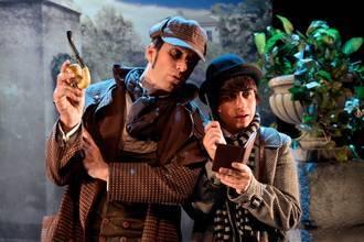 'Sherlock Holmes y el cuadro mágido', este viernes en el Buero Vallejo