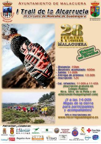 El I Trail dela Alcarruela abre el III Circuito de Montaña de Guadalajara