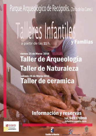 Semana Santa en el Parque de Recópolis: talleres para niños y familias a los pies de la ciudad visigoda
